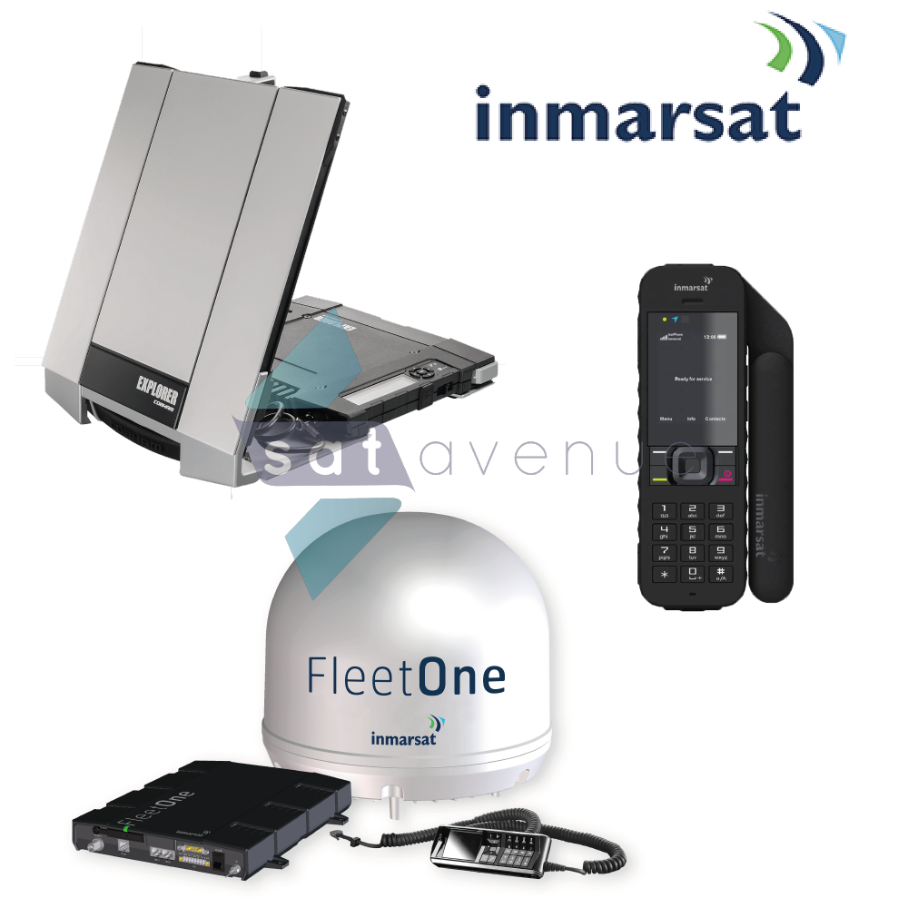 Pack communication Inmarsat pour téléphone satellite IsatPhone 2 et modems satellite BGAN Explorer et Fleet One_Satavenue